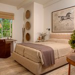Guests stay in one of 18 private cottages
