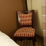 This was the chair in the room.