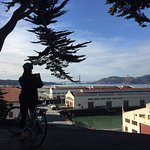 Fort Mason on a cold Christmas Day