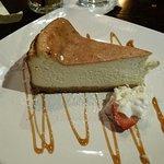 My lovely ricotta cheesecake -- light, not too sweet, generous-sized, fresh.