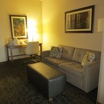 Jr. Suite Sitting Area with sofabed