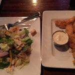 Chicken Tenders and House Salad as my side.