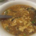 Bowl Hot and Sour Soup, China Rose, Milpitas, Ca