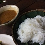 Peanut Curry and Vermicelli