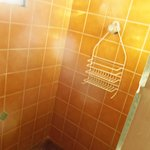 This is the shower.