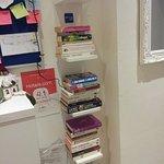 books at corridor