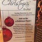 Christmas buffet, Chicago Joe's, 1808 Wellington Ave | Victoria Inn Hotel, Winnipeg, MB