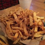 Half fries, half Haystack onions