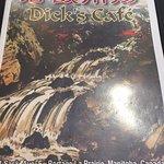 Menu cover, Dick's Cafe,134 Saskatchewan Ave E, Portage la Prairie, MB