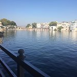 other side of pichola lake.