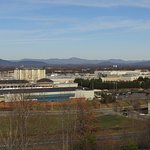 View of Liberty University from Fairfield Inn