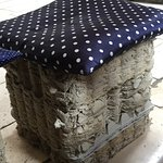 Love these egg crate stools!