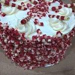 Red Velvet cake from Vi's for Pies