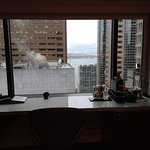 The northwest corner unit 2302 with the view of the port and downtown (Macy's)