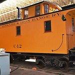Duluth Missabe & Iron Range caboose