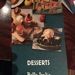Deserts if you have room