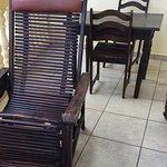 La chaise longue en bois