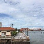 乘渡輪可以一覽檳城島的景色