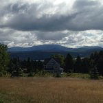 View of Saddleback Mountain in Rangeley Maine