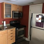 Small kitchen. Walk in closet of second bedroom (with a air mattress it can be a  third bedroom)