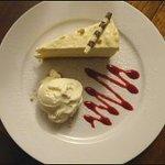 Bailey's & White Chocolate Cheesecake