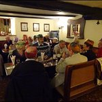 Some of our Diners at tables