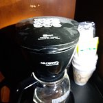 dirty coffee pot