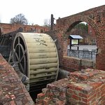 Water Wheel That Drove the Bellows at the Foundry