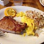 Breakfast Pork Chop