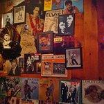 Elvis Homage Wall