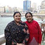 Two Bengali ladies at Alexandria.