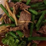 Beef and Green Beans and Bamboo Shoots