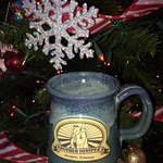Brother Juniper's is on our mind during Christmas in North Dakota! My wife loves this coffee mug