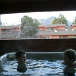 Private hot tub on our patio - we loved this!!!