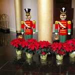 Lobby decorations