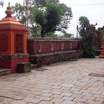 Courtyard Parvati Temple