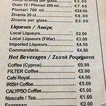 Inexpensive drinks