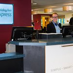 Our friendly Reception team are on hand 24/7 for anything you need