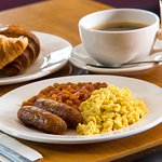The choice is yours at our Express Start buffet breakfast!
