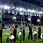 UND CHEER TEAM at the ALERUS CENTER!