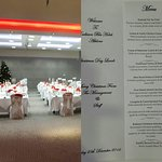 Christmas Day Lunch Venue & Menu