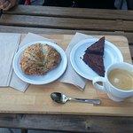 Multi-grain croissan, browny and espresso