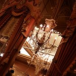 Plaza Inn -- chandellier