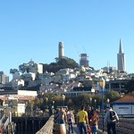 Looking back San Francisco from the Pier..