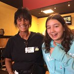 Jackie and Ekin at Eggs Up Grill in Myrtle Beach, SC location