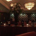 Inside the main restaurant.