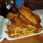 3 piece fish and chips