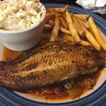 Blackened Cajun Catfish