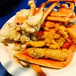 All the lobster & crab my little Louisiana belly can hold?? Ummm yes please!!! This place was fa