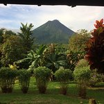 View over the Arenal Volcano